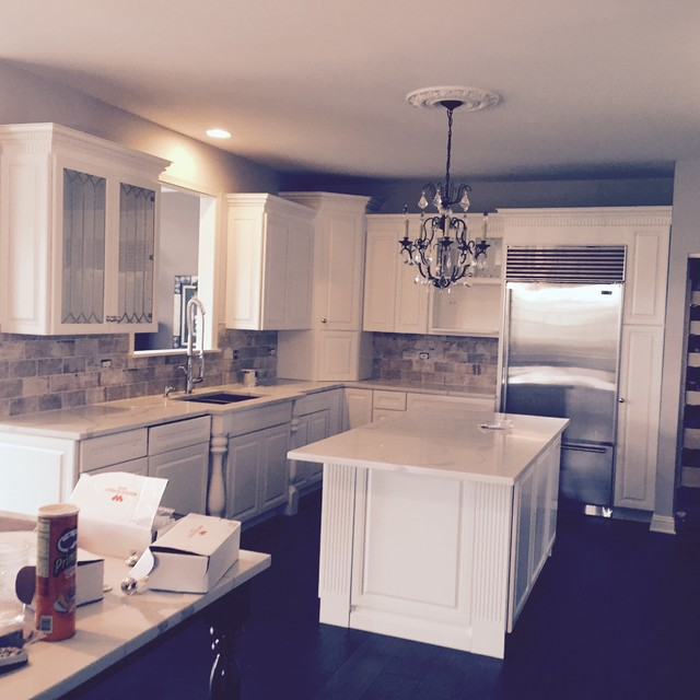 Renew Kitchen Cabinets: This Kitchen We Refinished In A Crisp White